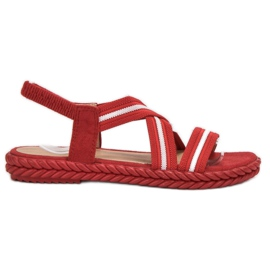 Seastar Comodi sandali da donna rosso