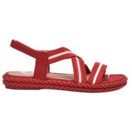 Seastar rosso Comodi sandali da donna