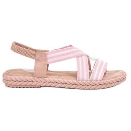 Seastar rosa Comodi sandali da donna