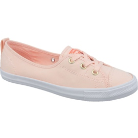 Converse Chuck Taylor All Star Balletto in pizzo Slip 564313C scarpe arancioni arancione