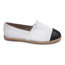 Nero Sneakers Espadrillas Linen 760 White
