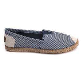 Sneakers Espadrillas Linen 326 Blue