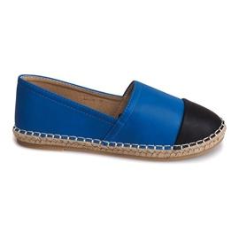 Sneakers Espadrillas Lino LX116 Blu