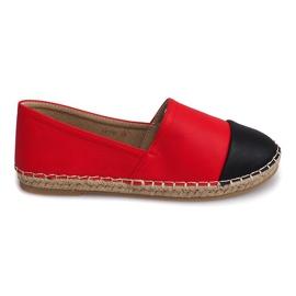 Sneakers Espadrillas Lino LX116 Rosso
