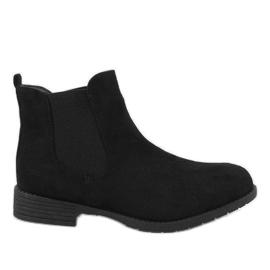 Kayla Shoes Stivali neri coibentati DD1863-1 nero