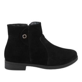 Kayla Shoes Stivali neri coibentati 885 nero