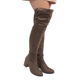Marrone Taupe boots in caldo post 1704-8