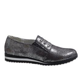 Scarpe stringate grigio TL-33