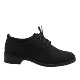 Nero Scarpe jazz nere con scarpe scamosciate C-7183