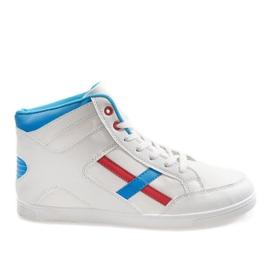 Calzature sportive da uomo bianche HY-1607