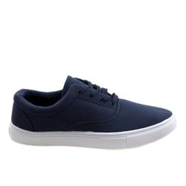 Marina Sneakers da uomo blu scuro QF-10