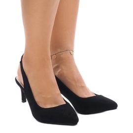 Nero Pompe nere su perno con elastico 16337-242