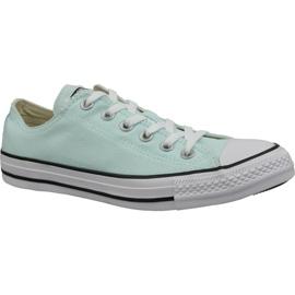 Blu Scarpe Converse C. Taylor All Star Ox Teal Tint In 163357C