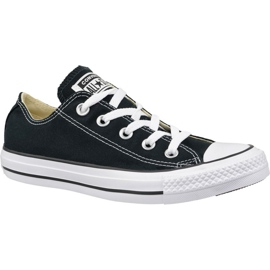 Nero Scarpe Converse C. Taylor All Star Ox Black M9166C