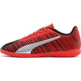 Scarpe da calcio Puma One 5.4 Jr 105654 01 rosso rosso