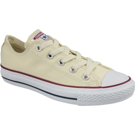 Converse C. Taylor All Star Ox Natural White In M9165 bianco