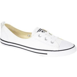 Scarpe Converse Chuck Taylor All Star Ballet Lace In C547167C bianco
