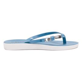 Seastar blu Flip-flop con fiocco