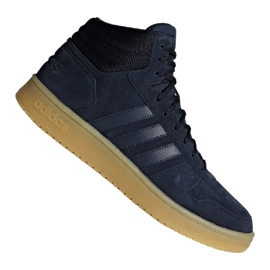 Scarpe da basket adidas Hoops 2.0 Mid M F34798 blu marino marina