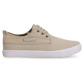 Sneakers in tessuto Casual Y011 cachi