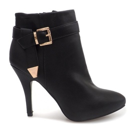 Nero Elegant Boots On A Pin 6-148 Black