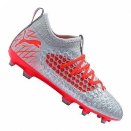 Scarpe da calcio Puma Future 4.3 Netfit Fg / Ag Jr 105693-01