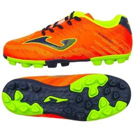 Scarpe da calcio Joma Champion Jr 908 Fg CHAJW.908.24 arancione arancione