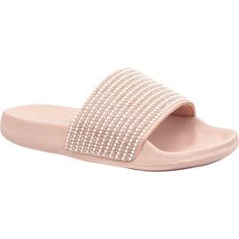 Pantofole Skechers Pop Ups in 34210-LTPK rosa