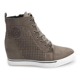 Sneakers Openwork XW36236 Olive