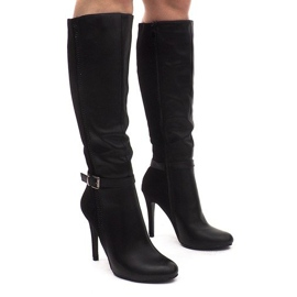 Nero Boots On A Pin 8022 Black