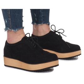 Nero Scarpe nere su piattaforma Danielle