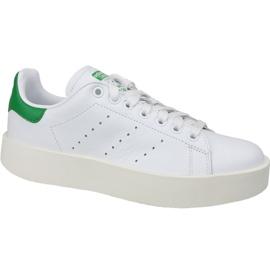 Scarpe Adidas Stan Smith Bold in S32266 bianco