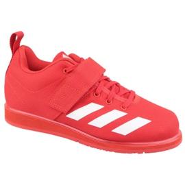 Adidas Powerlift 4 W BC0346 scarpe rosso