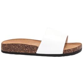 Bello Star bianco Pantofole bianche classiche
