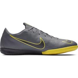 Scarpe da calcio Nike Mercurial Vapor X 12 Academy Ic grigio M AH7383 070