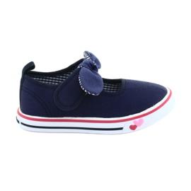 American Club marina Sneakers da ginnastica con fiocco TEN42