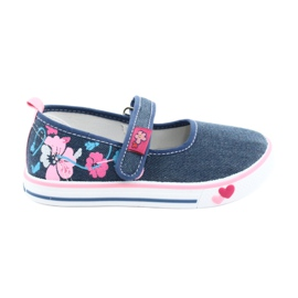 American Club blu Sneakers sneakers con velcro TEN15