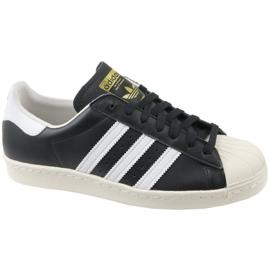 Nero Scarpe Adidas Superstar 80S M G61069