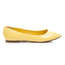 Seastar giallo Ballerina laccata