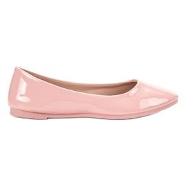 SHELOVET rosa Ballerina laccata