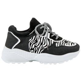 SHELOVET Sneakers alla moda Zebra Print