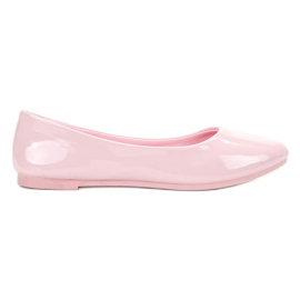 Ballerine laccate VICES rosa
