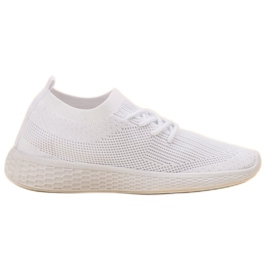 SHELOVET bianco Slip-on Sport Shoes