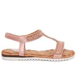 Sandali da donna rosa HT-67 rosa