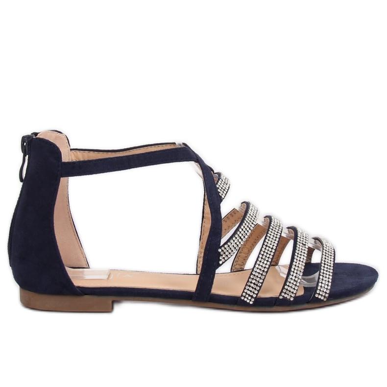 Sandali da donna blu navy LL6339 Blu marina