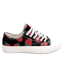 Sneakers fragola nero XL-21 nero