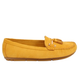 Mocassini gialli L7183 giallo