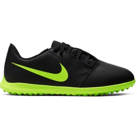 Scarpe da calcio Nike Phantom Venom Club Tf Jr AO0400 007 nero