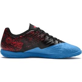 Scarpe da calcio Puma One 19.4 It M 105496 01 nero e blu