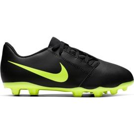 Scarpe da calcio Nike Phantom Venom Club Fg Jr AO0396 007 nere